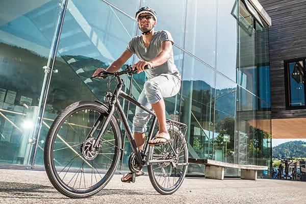 Crossbikes auch für die Stadt